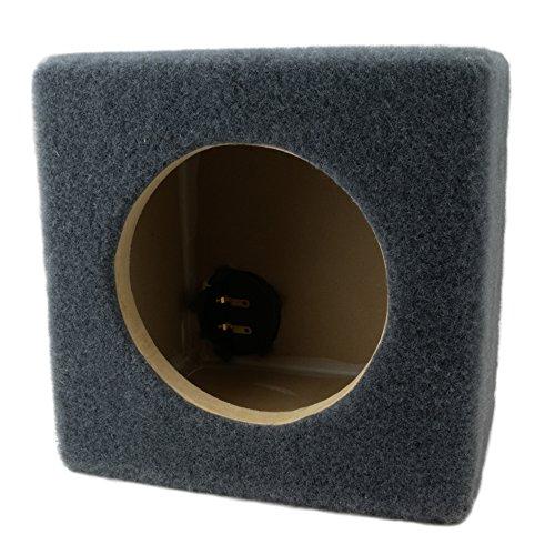 0.15 ft^3 Sealed MDF Sub Woofer Enclosure for Single JL Audio 6.5″ W3v3 (6W3v3) Car Subwoofer – 1/2″ Premium MDF Construction – Made in U.S.A.