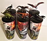 Jurassic World: Fallen Kingdom Movie Theater Exclusive Cup Topper Set #1 With 44 oz Cups