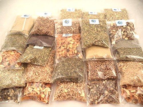 Sacred Tiger 20 Herb Kit Metaphysical, Kitchen, Cooking, Seasoning, Spices, Tea, Wicca, Pagan