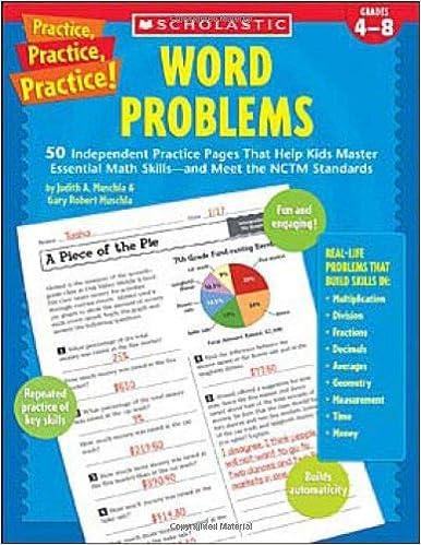 Amazon.com: Word Problems (Practice Practice) (9780439529631 ...