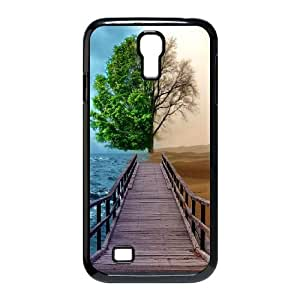 Love Tree Samsung Galaxy S4 9500 Cell Phone Case Black D4601699