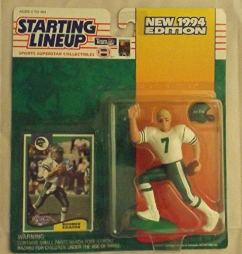 (Starting Lineup Boomer Esiason Figure with Trading Card 1994 NFL Football New York Jets)