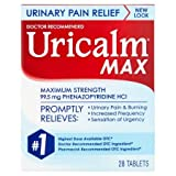 Uricalm Maximum Strength 28 Tablets 99.5 Mg Strong Per Dose by Uricolm