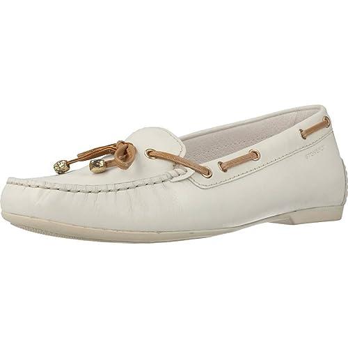 Mocasines para Mujer, Color Blanco, Marca STONEFLY, Modelo Mocasines para Mujer STONEFLY 106122 Blanco: Amazon.es: Zapatos y complementos