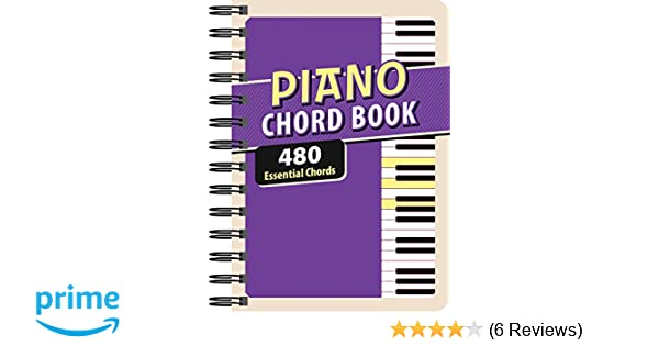 Piano Chord Book 480 Essential Chords Editors Of Publications