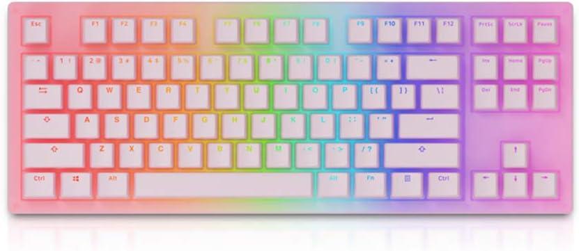 Akko 3087 Sakura Jelly Mechanical Keyboard