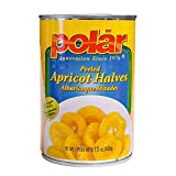 MW Polar Apricot Halves in Light Syrup, 15 Ounce (Pack of 24)