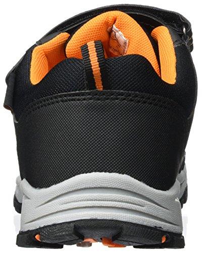 Kappa Scoop Tex Teens, Zapatillas Unisex Niños Negro (1144 Black/orange)