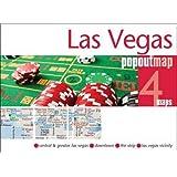 Las Vegas Popout Map - handy pocket size pop up city map of Las Vegas (PopOut Maps)