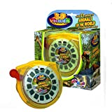 Big Game Toys~3D Viewer Animals of The World Gift Set Zoo Safari 3 Reels