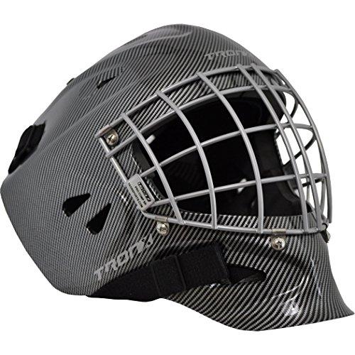 - TronX Pro Comp Hockey Goalie Mask (Black - Large)