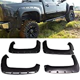 """09 chevy silverado fender flares - Fender Flare Fits 2007-2014 Chevy Silverado 1500 2500 