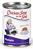 Chicken Soup for the Dog Lover's Soul Canned Food for Senior Dogs, Chicken Formula (13 Ounce Cans) by Unknown
