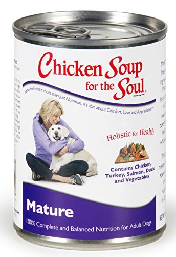 Chicken Soup for the Dog Lover's Soul Canned Food for Senior Dogs, Chicken Formula (13 Ounce Cans) by Unknown by Chicken Soup for the Pet Lover's Soul
