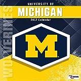 Cal 2017 Michigan Wolverines 2017 12x12 Team Wall Calendar