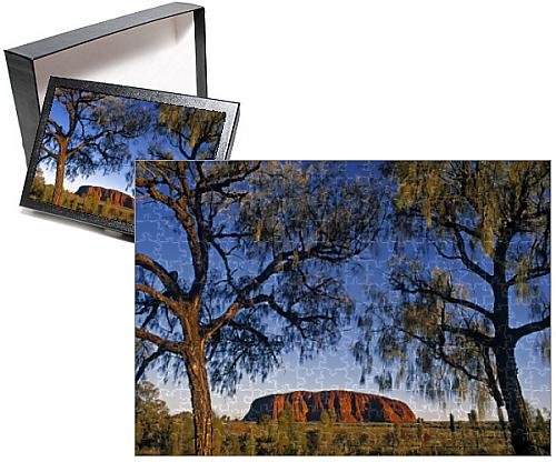 Media Storehouse 252 Piece Puzzle of Ayers Rock, Northern Territories, Australia (9920133)