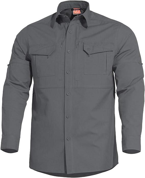 PENTAGON Plato Táctica Camisa Wolf Grey: Amazon.es: Ropa y accesorios