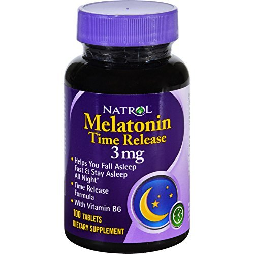Natrol Melatonin 3mg Tr