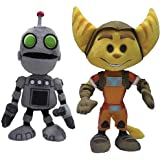 """Ratchet And Clank 8"""" Plush: Set Of 2"""