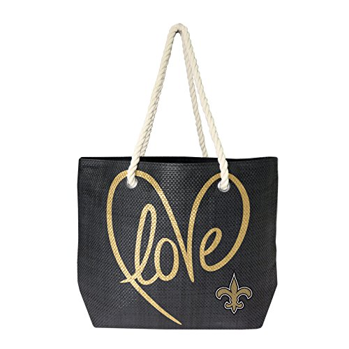 NFL New Orleans Saints Rope Tote Bag - New Orleans Saints Bag