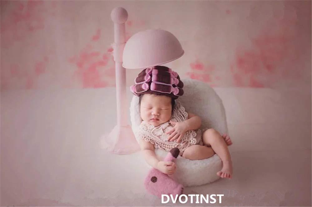 Dvotinst ベビー写真小道具 スタジオ撮影用 かわいいアイアン ポーズ小道具 ヘアスタイル 新生児 スタジオアクセサリー 小道具   B07GTBWCD1