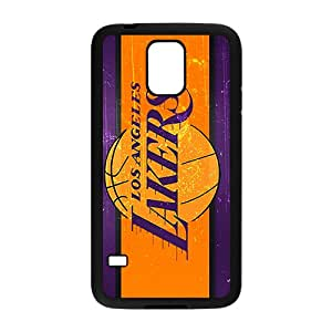 Los Angeles Lakers NBA Black Phone Case for Samsung Galaxy S5 Case
