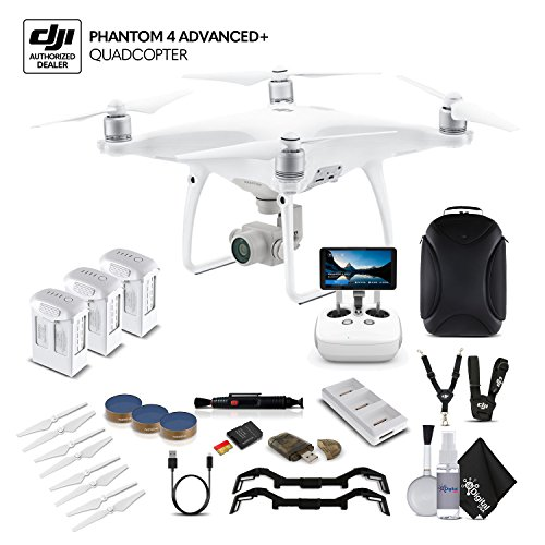 DJI Phantom 4 Advanced+ (CP.PT.000698) 3 Battery Bundle