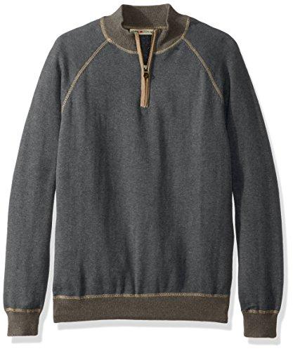 Gunmetal Mens Sweater (Agave Men's Victory at Sea, Gunmetal, Medium)