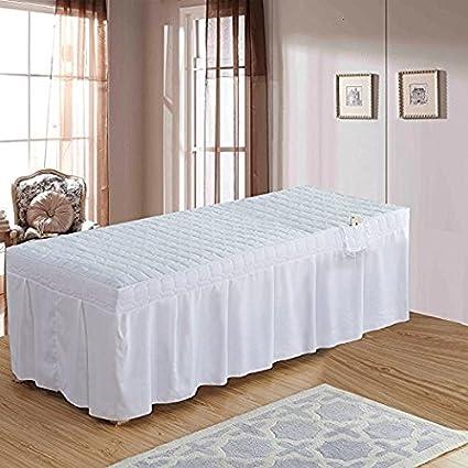COLCHON COLCHON COLCHON MASAJE Falda de Masaje Grueso Masaje Fisioterapia Colchón Moda Confort Minimalismo (Blanco