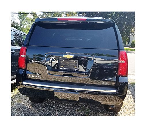 REAR BUMPER TRIM MOLDING CHROME FITS 2015-2019 CHEVROLET TAHOE SUBURBAN GMC YUKON YOKON XL