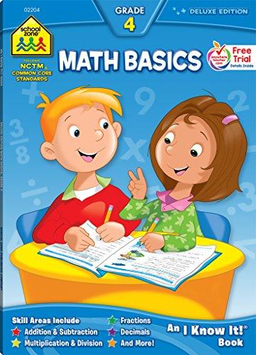 School Zone Math Basics Workbook (Math Basics 4)