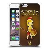 Head Case Designs Athena Mini Greek Goddesses Soft Gel Case for iPhone 6 / iPhone 6s