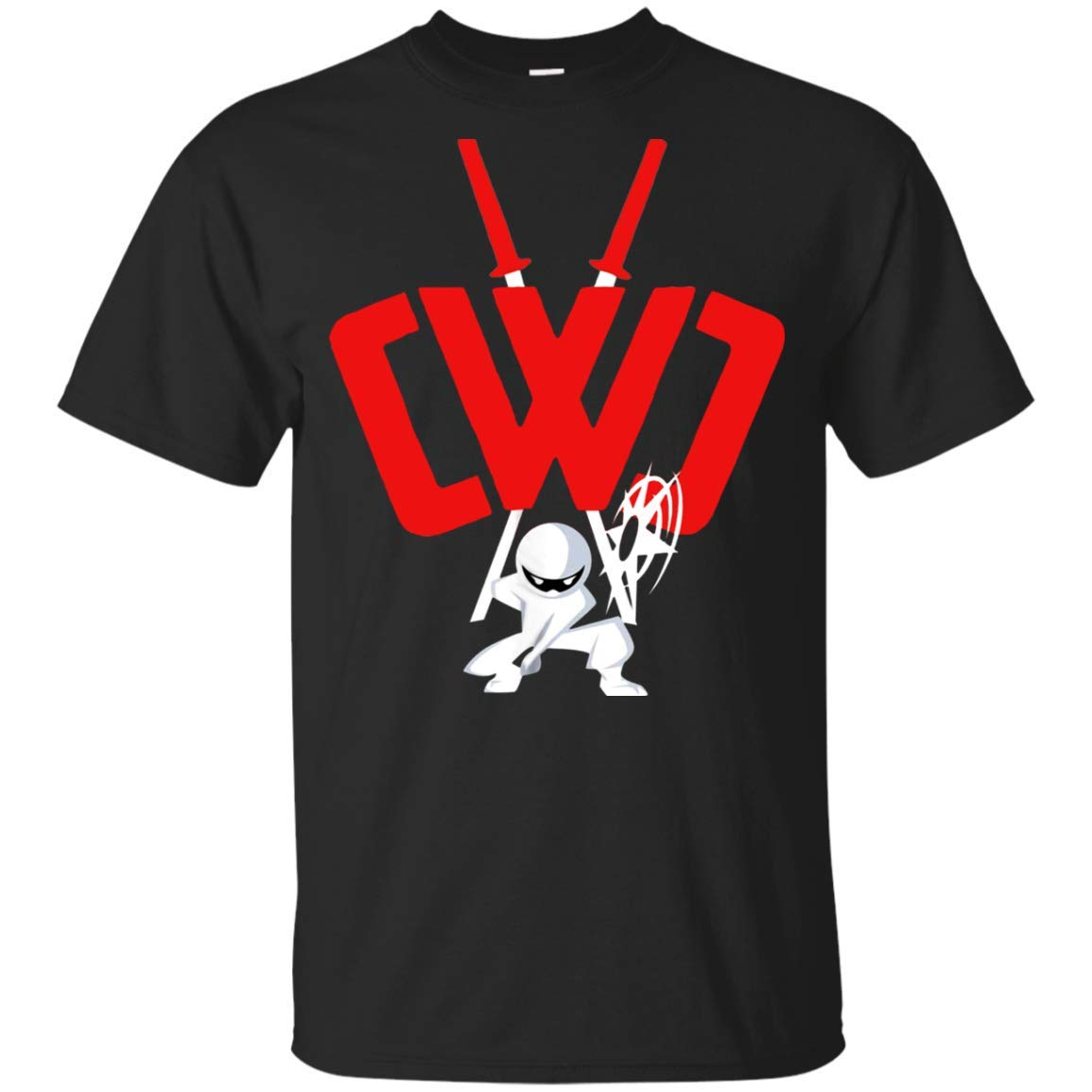 46a269e64d1f Amazon.com: CWC Chad Wild Clay Ninja T-Shirt Sword & Weapon Gift for Kid:  Clothing