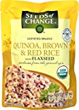 Seeds of Change Organic Quinoa Brown & Red Rice with Flaxseed MICROWAVE POUCH -- 8.5 oz - 2PC