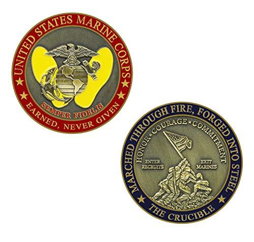 Marine Corps Crucible Challenge Coin ()