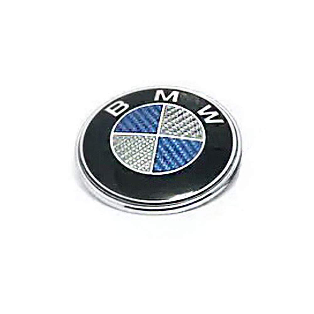 Myhonour Emblem 82mm Haube Logo Vorne mit Schwarz /& wei/ß 1 3 5 7 Serie X1 X3 X5 X6