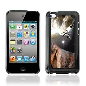 CQ Tech Phone Accessory: Carcasa Trasera Rigida Aluminio Para Apple iPod Touch 4 - Space Goats