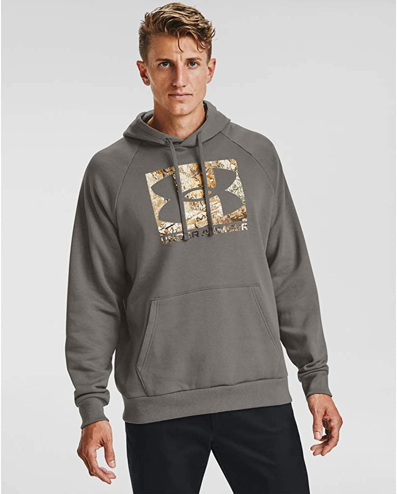 Under Armour Men's Rival Fleece Hoodie: Clothing