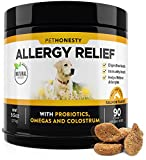 PetHonesty Allergy Relief Immunity Supplement for