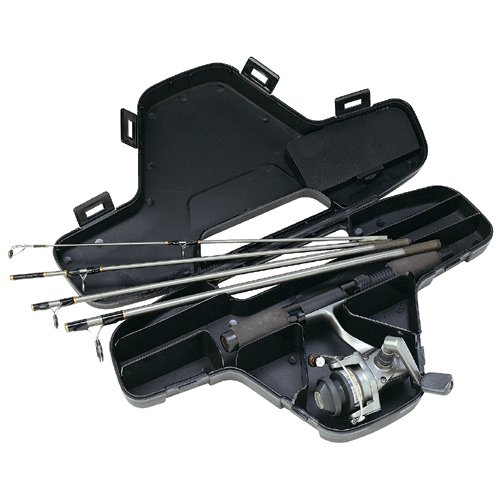 Daiwa Mini System Minispin Ultralight Spinning Reel and Rod Combo in Hard Carry Case, Outdoor Stuffs