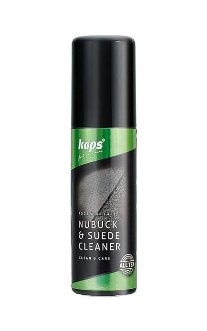 Kaps Nubuck & Suede Cleaner Betún y reparación de zapatos, Transparente (Neutral),