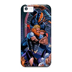LeoSwiech Apple Iphone 5c Protective Hard Phone Case Provide Private Custom High-definition Deathstroke I4 Pictures [kXQ25661wWxd]