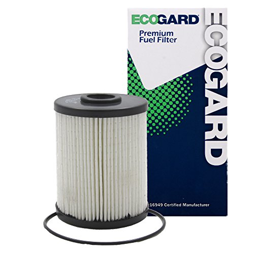 ECOGARD XF56097 Diesel Fuel Filter - Premium Replacement Fits Dodge Ram 2500, Ram 3500