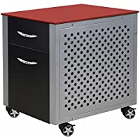 Pitstop Furniture FC230R Red File Cabinet