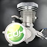 Racing Head(Square Type/Silver) for 2 stroke engine kit 66cc/80cc - Gas motor motorized bicycle