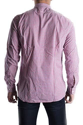 Homme Coton Massimo Chemise Mcbi13014 Rebecchi Rouge OIxwwZq5