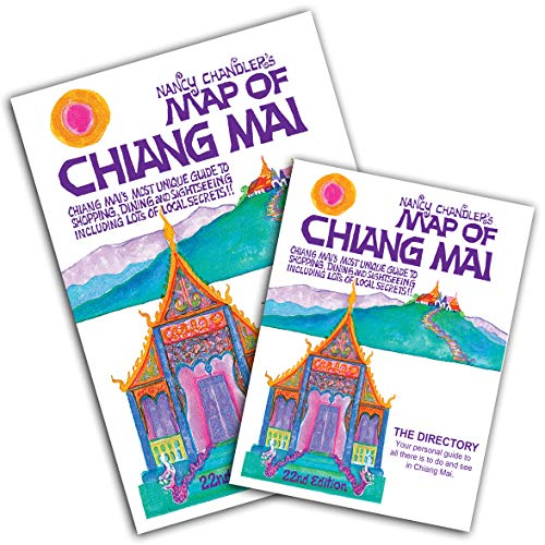 Nancy Chandler's Map of Chiang Mai, 22nd Edition (Chiang Mai Map)