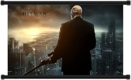 Amazon Com Hitman Absolution Game Fabric Wall Scroll Poster 32 X 20 Inches Prints Posters Prints