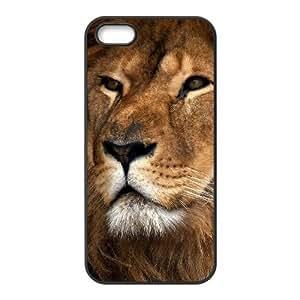 JJZU(R) Design Customized Phone Case with Lion for Iphone 5,5S - JJZU897195