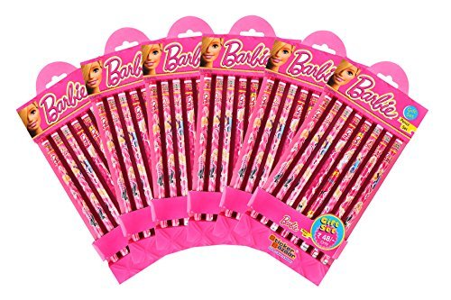 Barbie pencil set 6 pkt Combo-288 by Sticker Bazaar